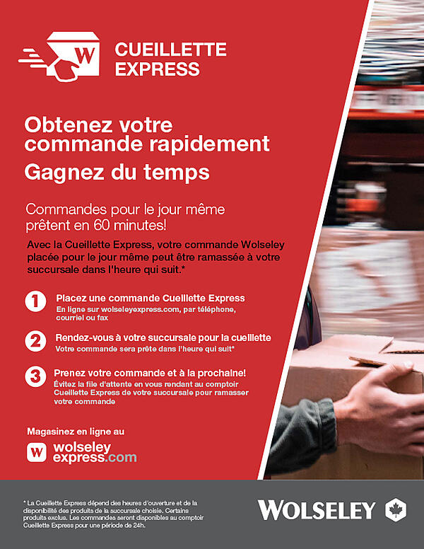 WOLSELEY Express Pickup WEB USE FR