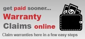 warranty claims online